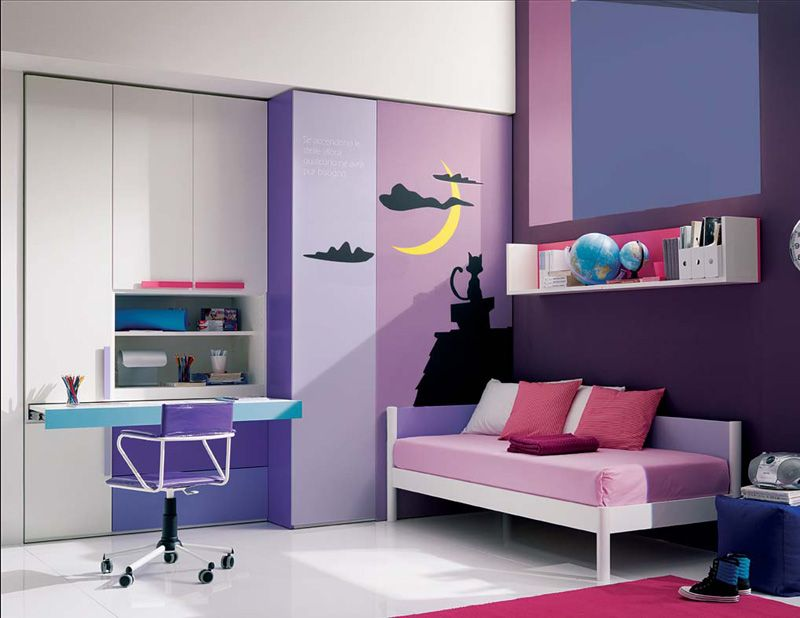 Cool Beds For Teen Girls Enchanting 13 Спален Для Девочек  Teen Wallpaper Bedroom Teen Girls And . Inspiration Design