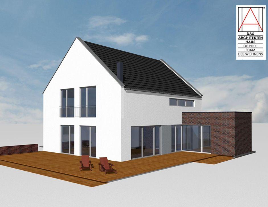Awesome Ein Haus Mit Klassischen Satteldach, Verbunden Mit Moderner Architektur Design