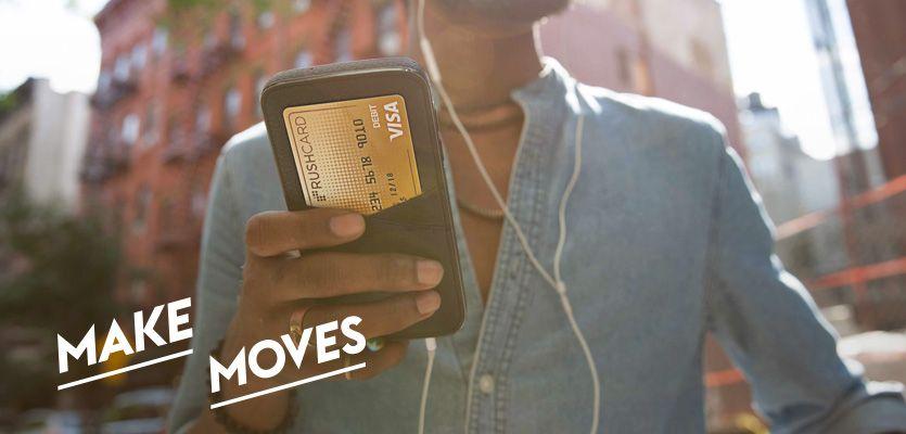 Rushcard apply now prepaid visa debit card application