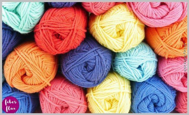Photo of fun knitting pattern
