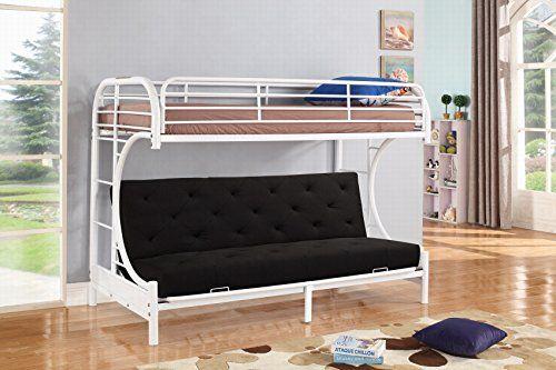 Metal Bunk Beds Futon Bed