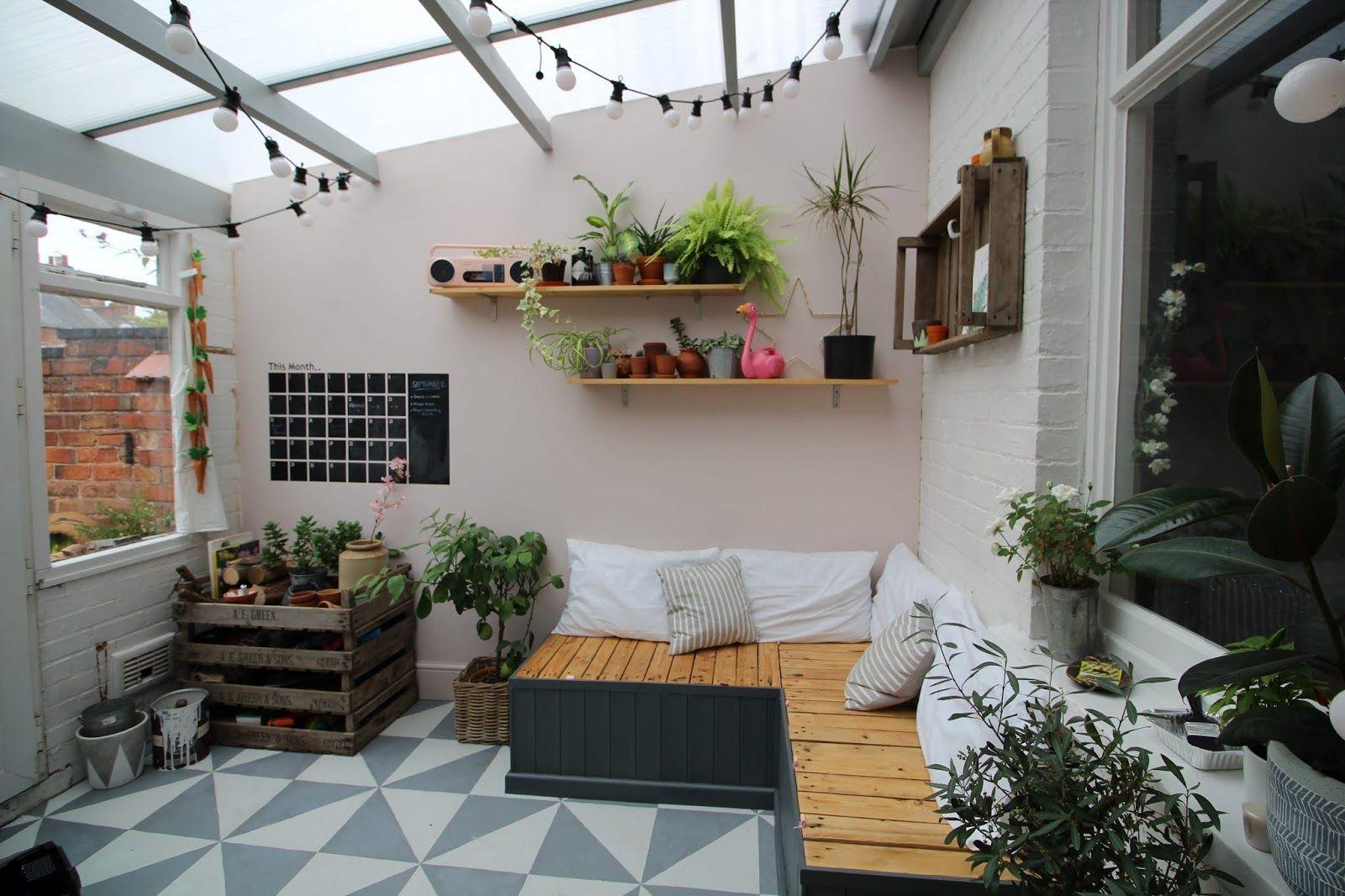 Creating an Indoor Garden Room: Conservatory Reveal ...