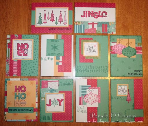 I have this paper and all these stamps, it is from Close to my Heart.  I love these.  I found the image on google images, so I don't know who to give credit to, but they are super cute.