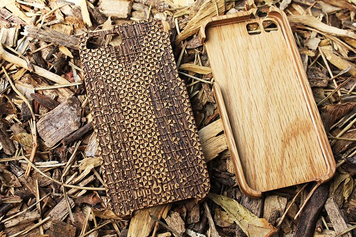 JuJuFire. Solid wood case. All wood, everytime.