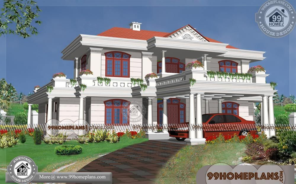 Small Budget House Design 60+ 2 Storey Modern House Plans