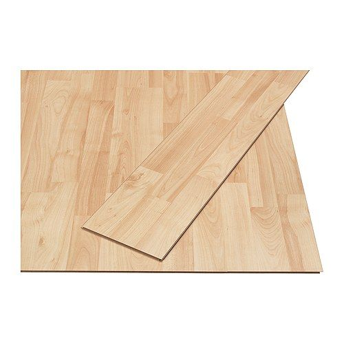 Tundra laminated flooring ikea will not fade in sunlight suitable even for rooms exposed to - Parquet ikea tundra ...