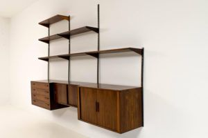 Wall Mounted Wooden Shelving Systems