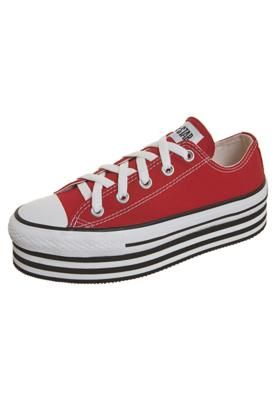 tênis converse all star plataforma layer bottom
