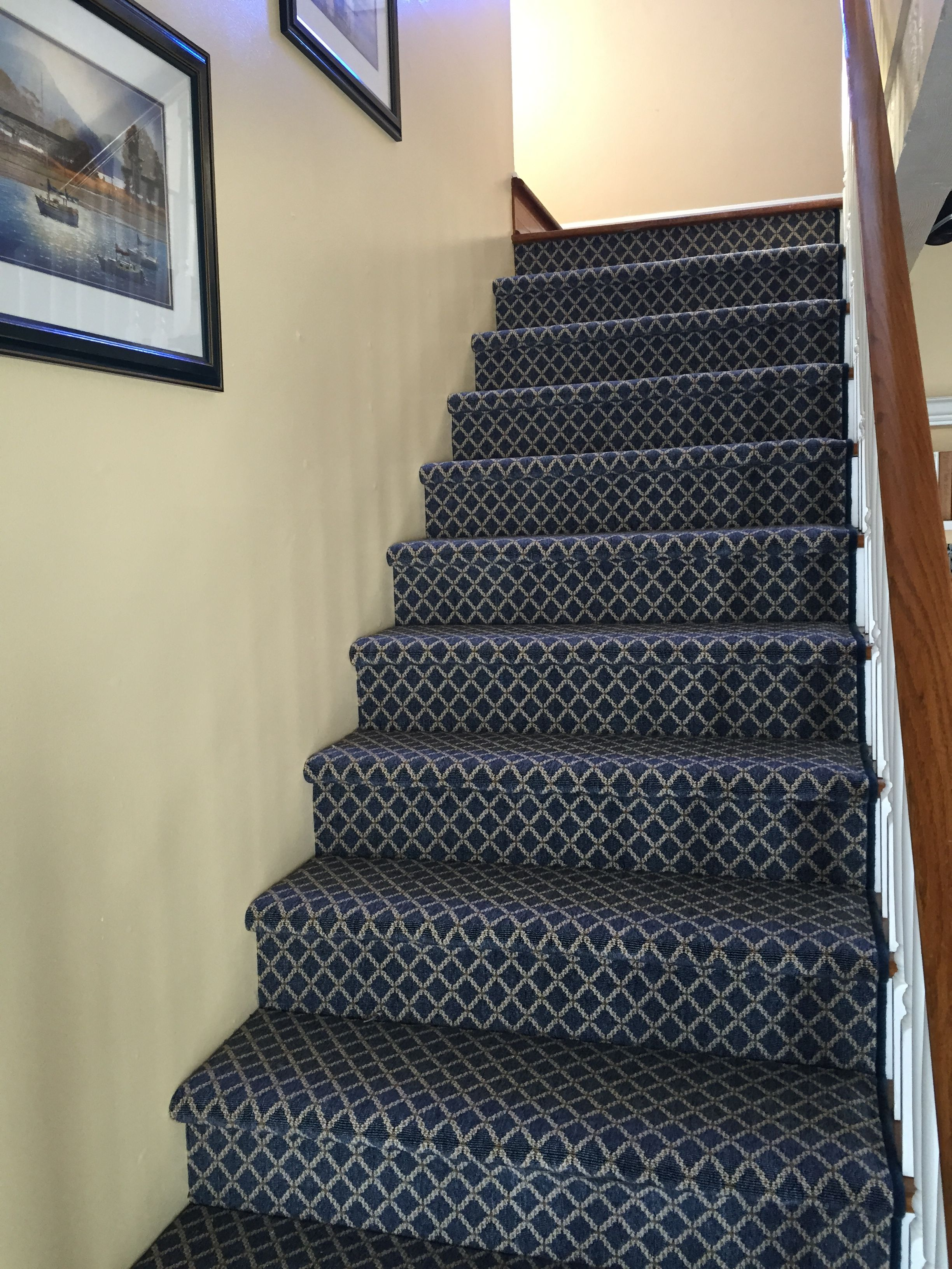 Hemphill S Fine Rugs And Quality Flooring In Orange County | Outdoor Carpet For Steps | Front Entrance | Marine | Navy Pattern | Rubber | Diy
