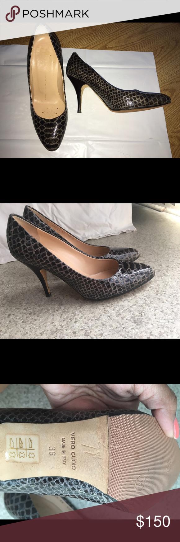 "Giuseppe Zanotti Design pumps Size 6 Giuseppe Zanotti Design pumps Size 6. 100% authentic.    I had a professional add ""non slippery soles"". Please view pictures"" Giuseppe Zanotti Shoes Heels"