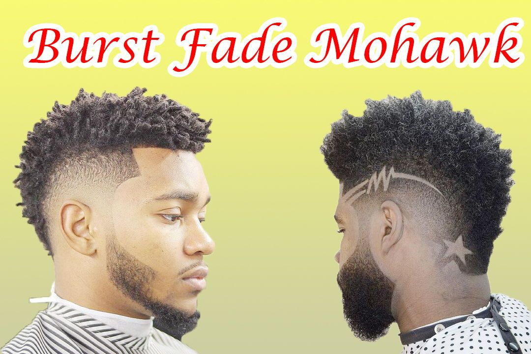23+ Mohawk fade black inspirations
