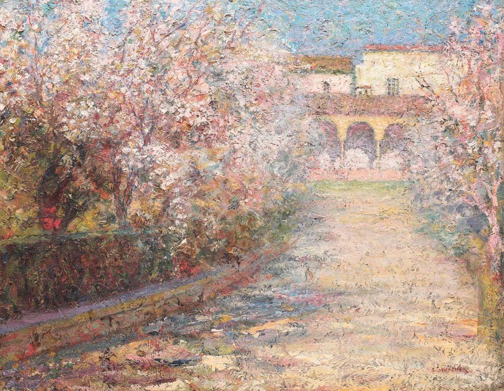 Garden in Seville \\ artist - Samuel Mutzner