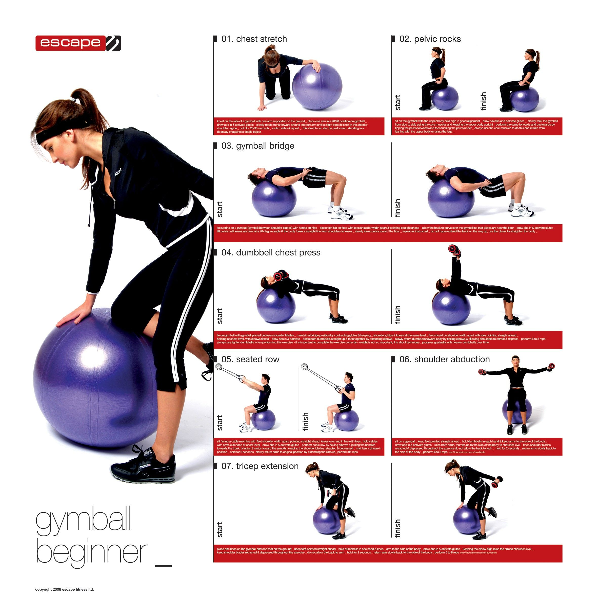 Exercise Fitness: Stability Ball For Beginners Core Stability Quotes