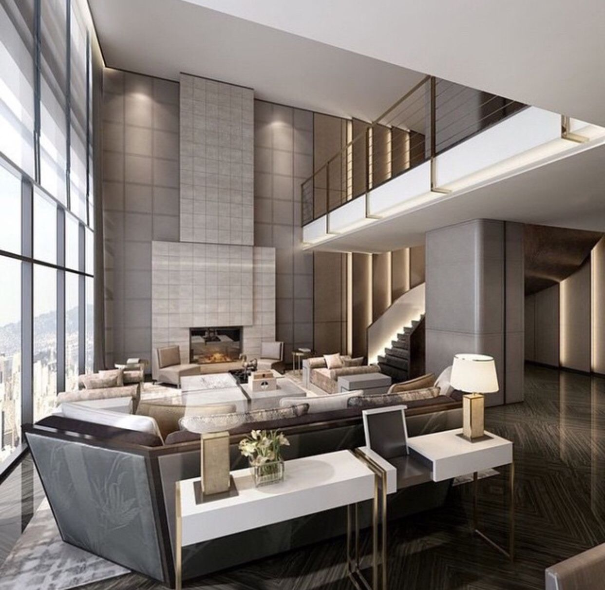 High ceiling design pinterest high ceilings living for High ceiling interior