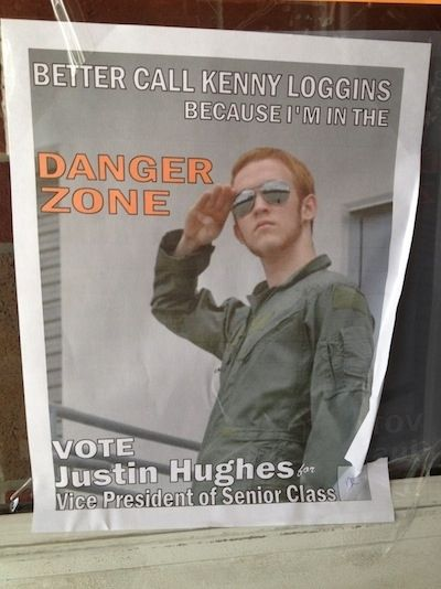 Some Guy's Awesome Student Election Posters   Students