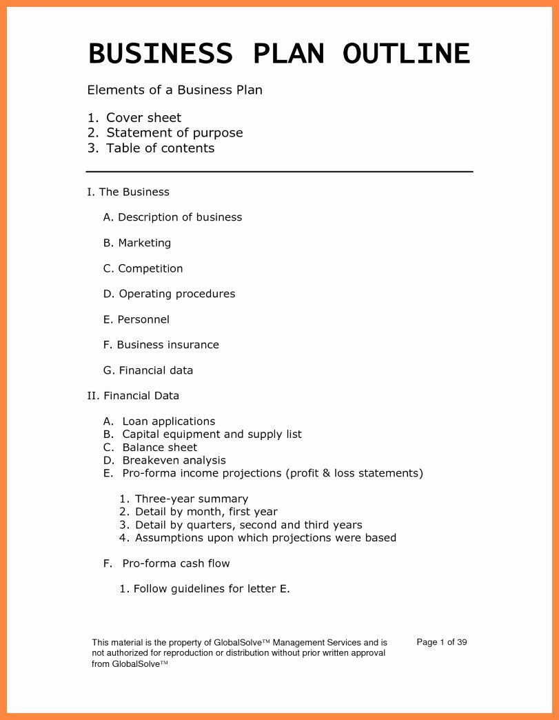 It Consulting Business Plan Template in 2020 (With images