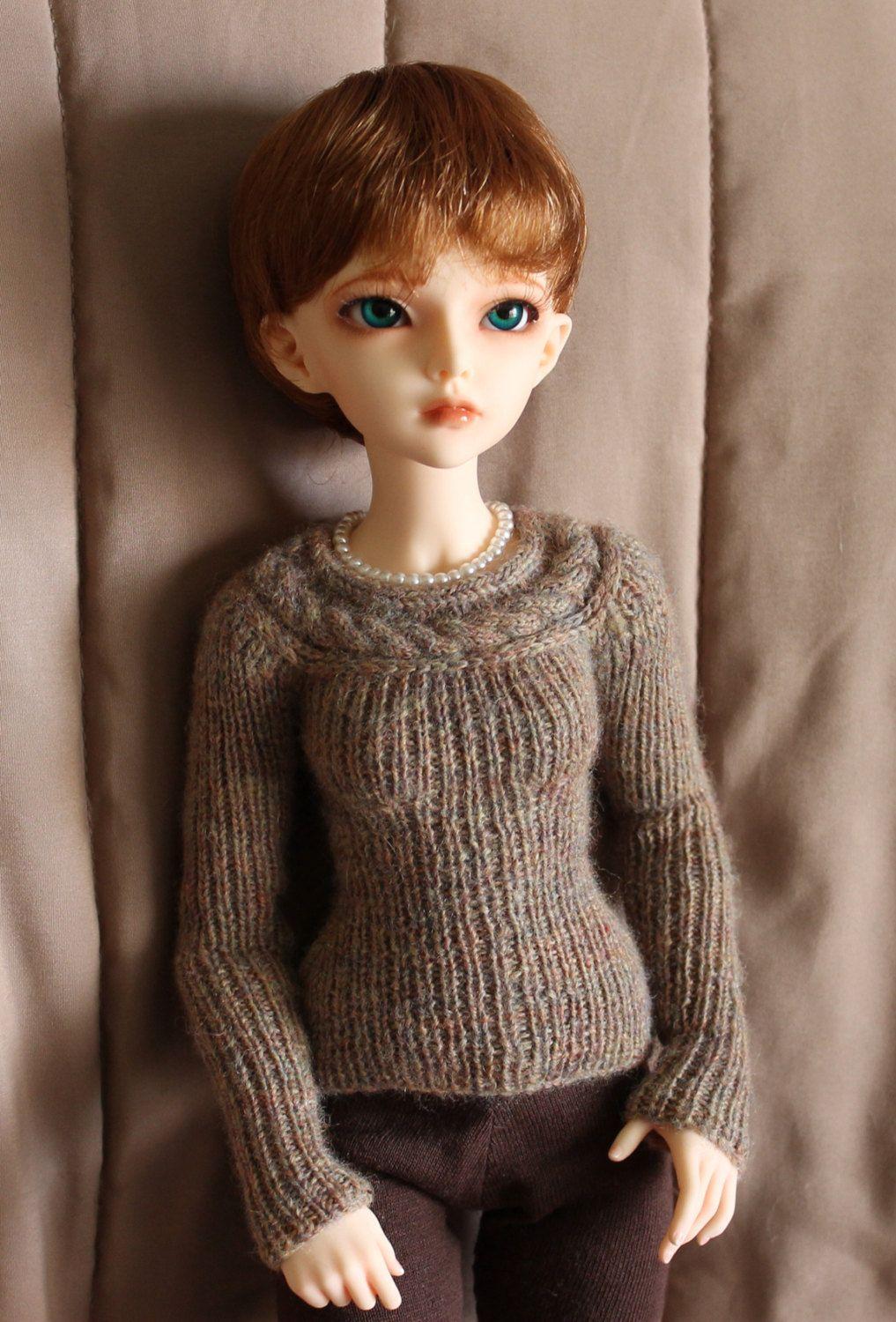 Minifee Knitting PATTERN for Lariat sweater by wovenflame on Etsy ...