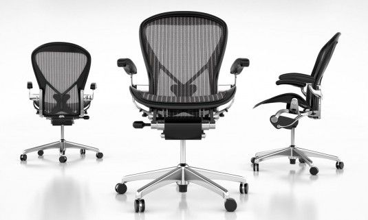 Aeron Chair Chrome Google Search With Images Comfy Leather Chair Ergonomic Chair Herman Miller Aeron Chair