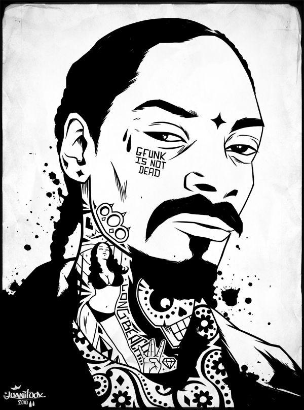 Digital Inking By Juanitoox Rapper Art Hip Hop Art Tupac Art