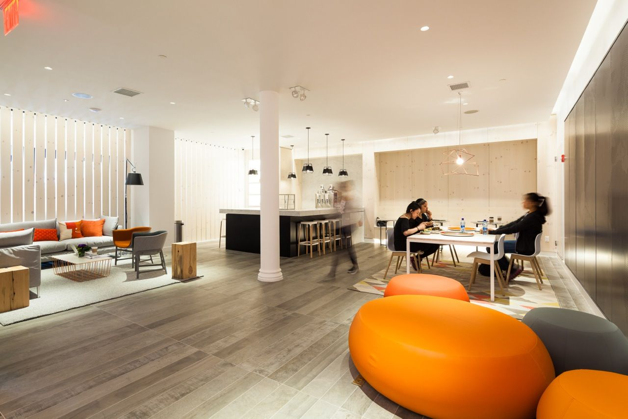WSDG acoustically designed Peloton Flagship Spinning Center New York