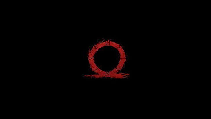 God Of War 4 Logo 4k Wallpaper Background 3840x2160 God Of War Wallpaper Backgrounds Wallpaper