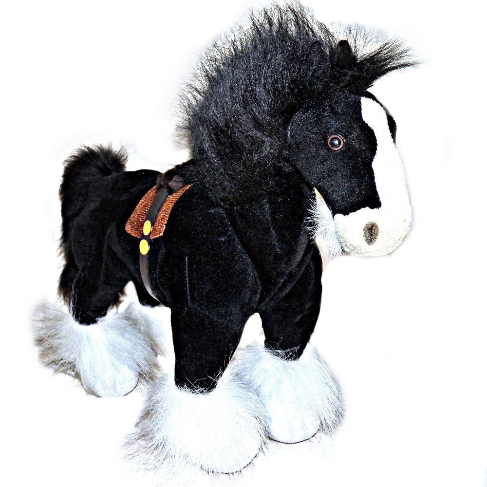 disney store exclusive brave angus black shire meridas horse he