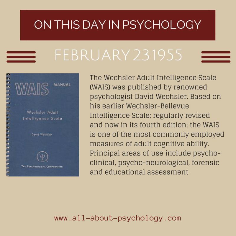 Wais Psychology