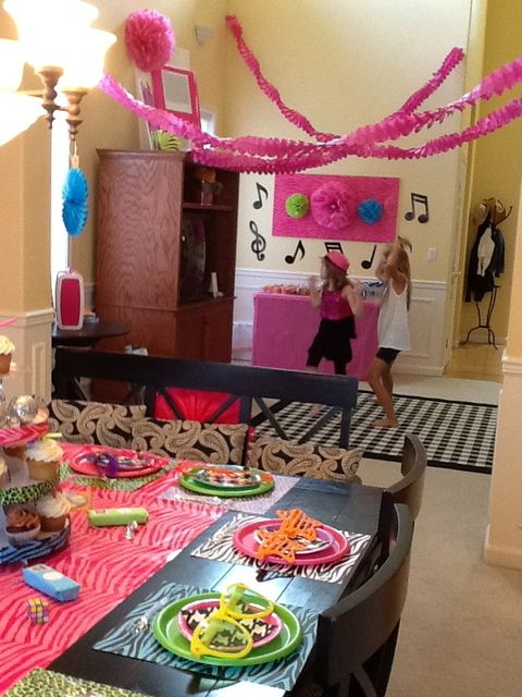 93721fd466c Dance Party Birthday Party Ideas