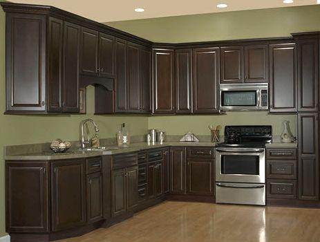 Dark Chocolate Kitchen Cabinet Depot Modular Kitchen Cabinets Kitchen Cabinet Design Espresso Cabinets