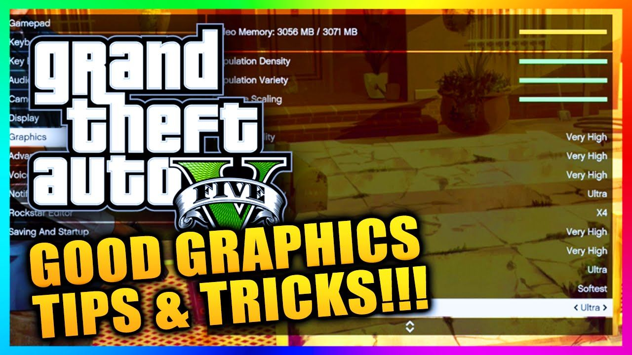 GTA 5 PC Graphics Settings Tips! How To Get Ultra & Very