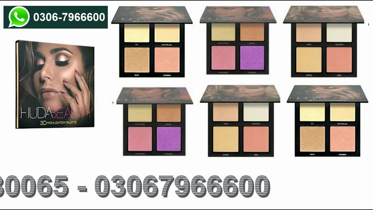 Pin on Huda Beauty 3d Highlighter Palette Price in
