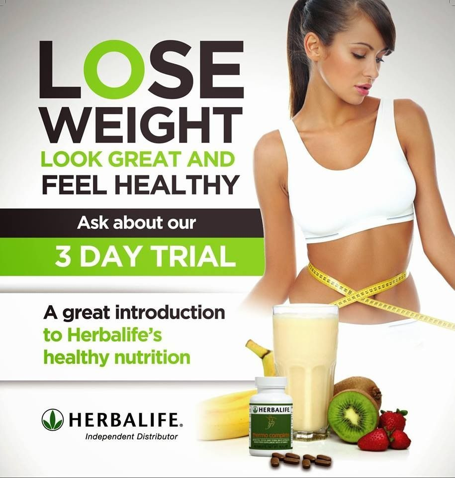 Ask me about the Herbalife 3 day trial!!! #greatresults