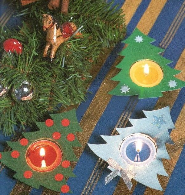 Easy Christmas Crafts for Kids paper crafts Pinterest Craft