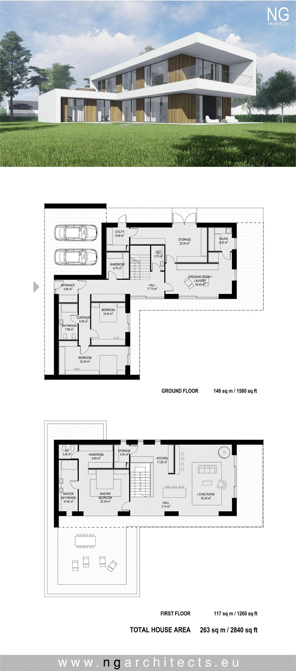 Modern House Architectural Plans Epingle Sur Modern House Plans Modern Villa Design Architecture House Minimal House Design