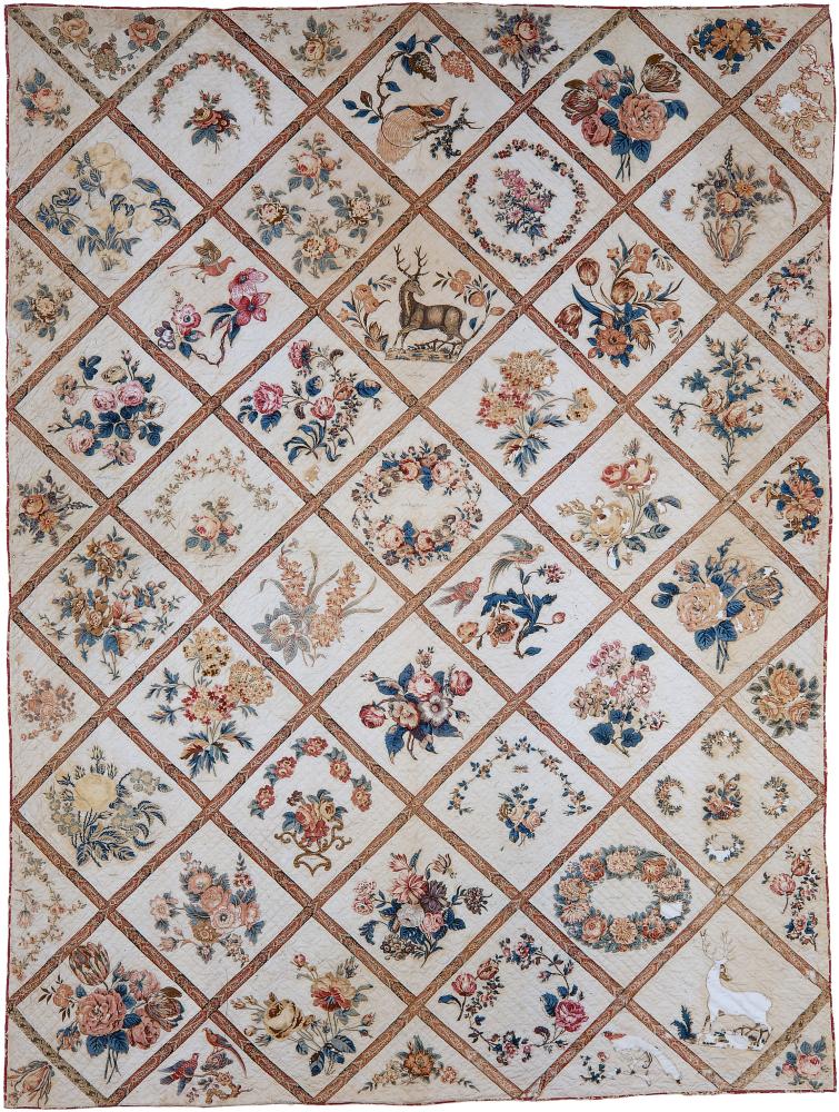 Civil War quilt from James Island, South Carolina, brought to Kansas