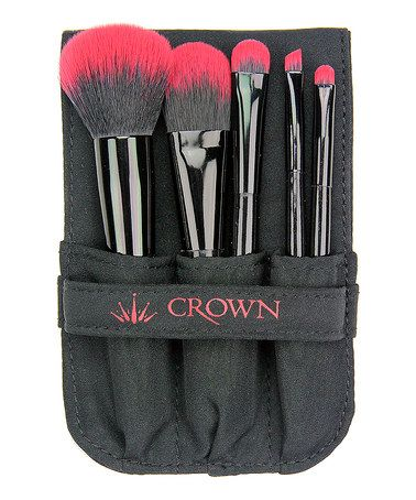 Look What I Found On Zulily Pink Five Piece Brush Set