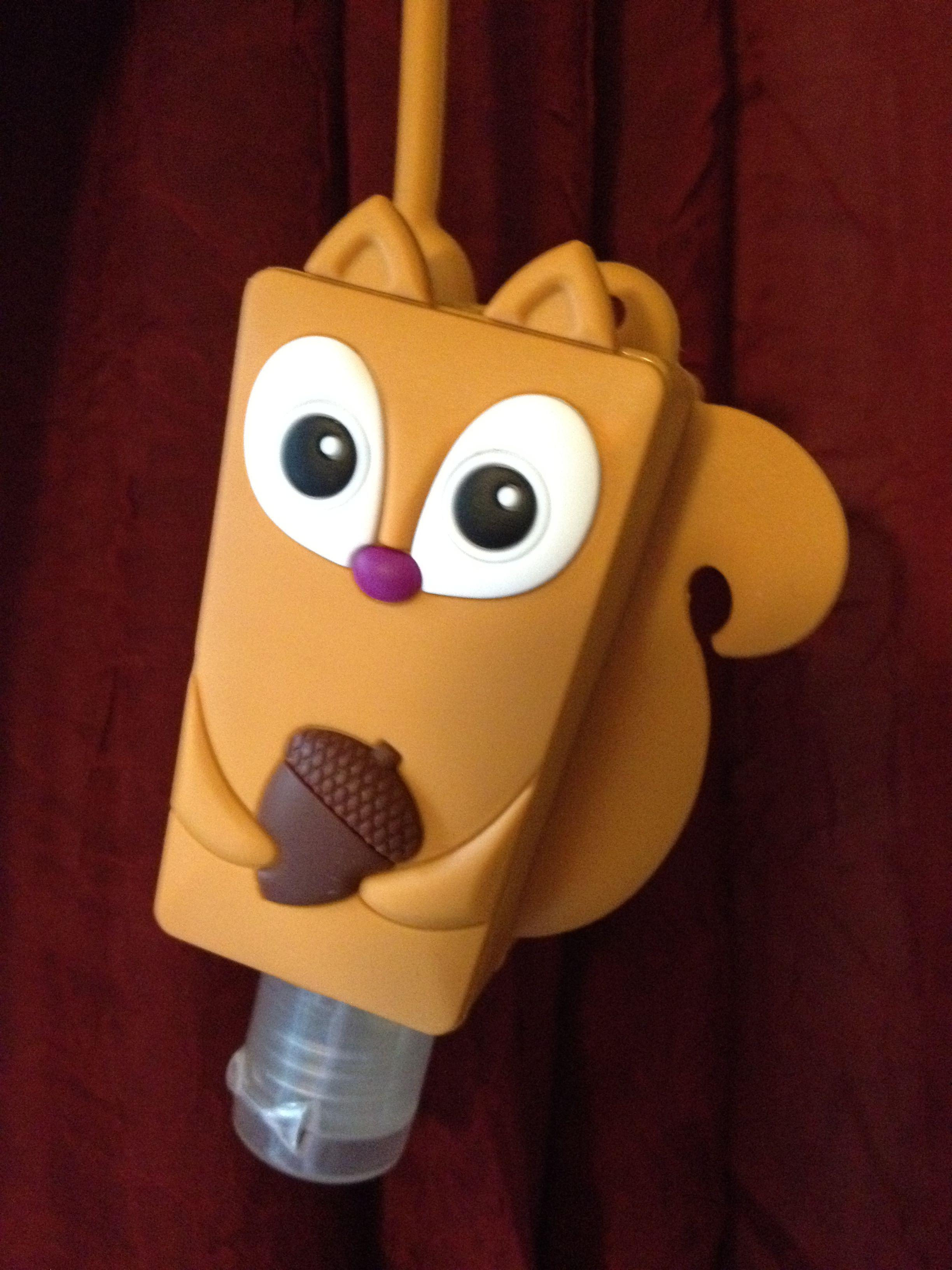 Squirrel Pocketbac Holder Bath Body Works Make Germs Go