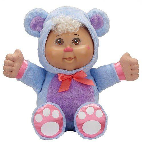 This Cabbage Patch Cutie is dressed in a pink and blue bear costume! Description from topdealon.com. I searched for this on bing.com/images