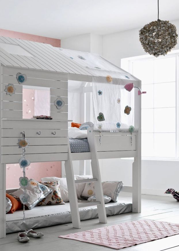 GroBartig Ein Hüttenbett Fürs Kinderzimmer | Kinderzimmer Ideen | Childrens Room  Ideas | Pinterest | Bed, Bedroom Und Room