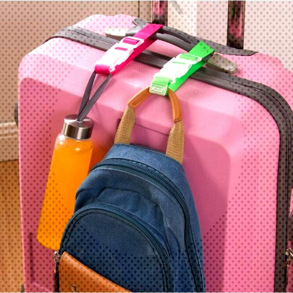 Button Buckle Adjustable Security Portable Hanger Luggage Strap Belt  Price: $ 9.95 & FREE Shipping