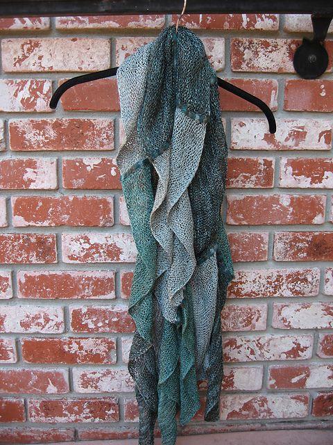 Ravelry: sstacyhampton\'s waterfall scarf | knitting.... | Pinterest ...