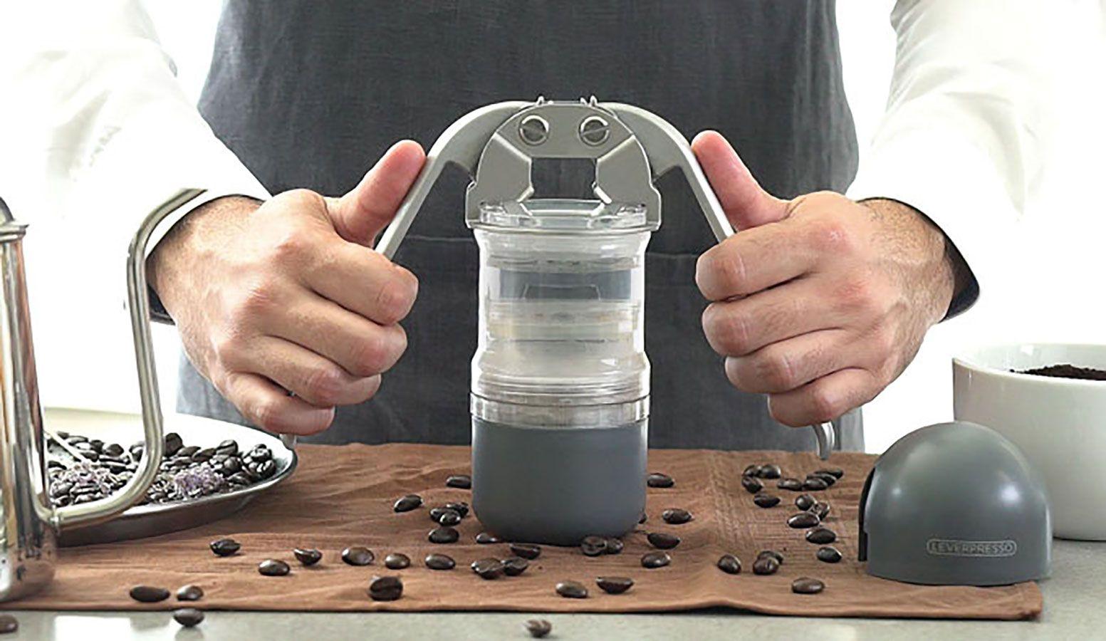 Leverpresso – die tragbare Handhebel-Kaffeemaschine | Pinterest ...