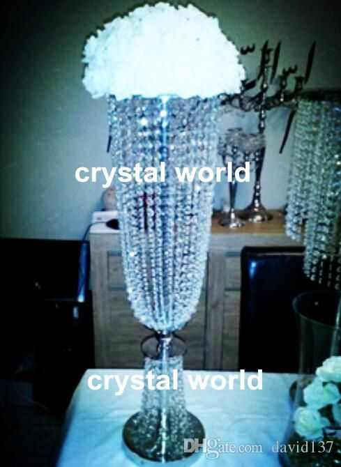 Wedding Table Decoration Wholesale Crystal Table Top Chandelier
