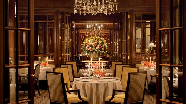 Fountain Restaurant At Four Seasons Hotel Philadelphia Is Located In The Center Of Historic Logan Square
