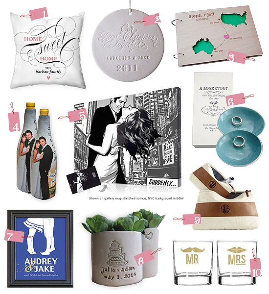 Top 10 Picks: Unique Personalized Wedding Gifts ... http ...