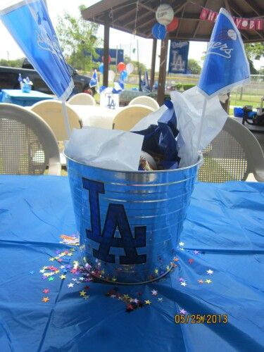 Dodgers Party Centerpieces Ekenasfiberjohnhenrikssonse