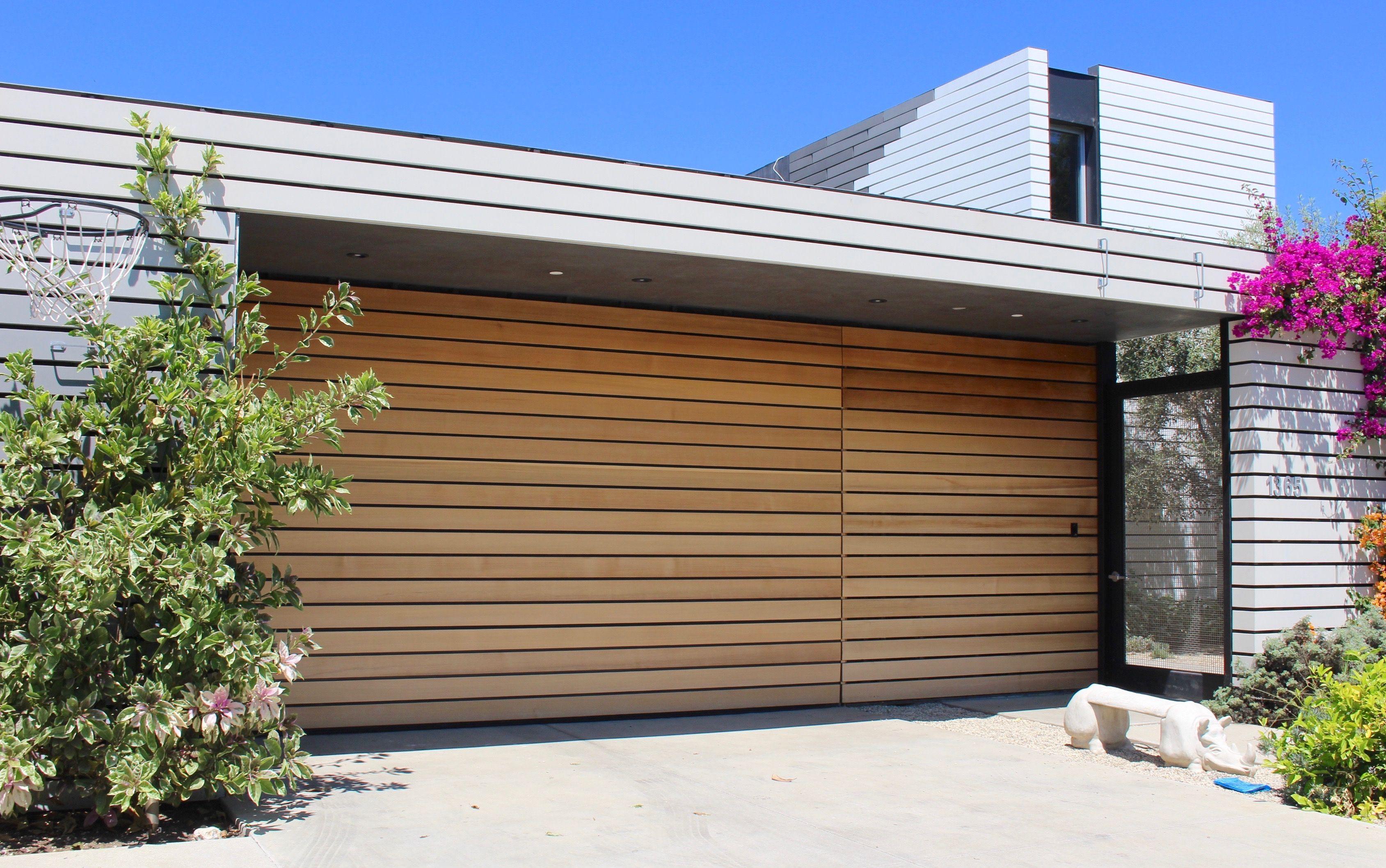 Wooden Modern Garage Doors | Design | Pinterest | Gartenzäune, Deko Und  Häuschen