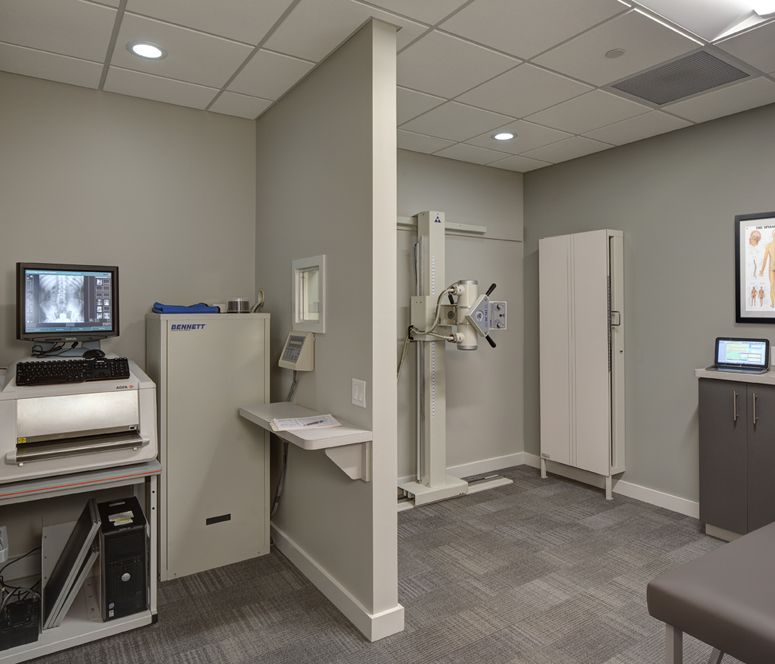 Chiropractic Xray Room Bucky Separate From Digitizer