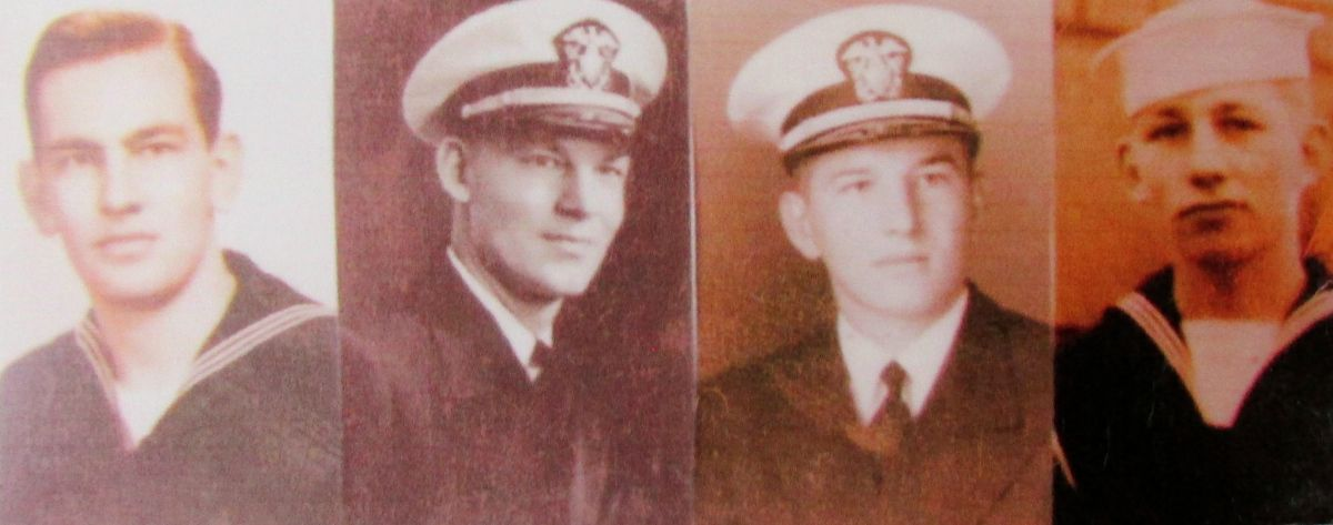 Radar Operator 3rd/C Fred Rieger served aboard minesweeper ...
