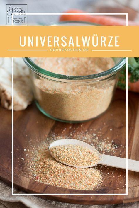 Rezept Das Gernekochen-Universalgewürz - Geschmack pur! Gewürze - küchenschlacht zdf de